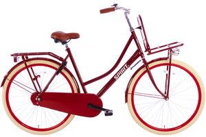 Spirit Omafiets Plus Rood 28 inch 53 cm