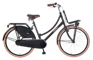 Popal Meisjes Transportfiets Urban Select Mat Zwart 26inch