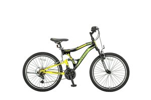 Umit Albatros 24 inch MTB Black - Yellow