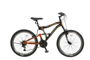 Umit Albatros 24 inch MTB Black - Orange