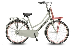 Altec Dutch 26inch Transportfiets N-3 Grijs Zalm