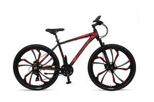 Umit Accrue 27.5 inch MTB Hydr.Brakes Black-Red