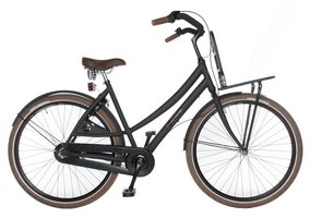Avalon Cruzz Transportfiets Dames Mat Zwart