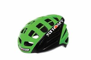 Suomy Gunwind HV 140 Groen Met Zwart Race Fietshelm
