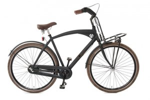 Avalon Cruzz Transportfiets Heren Mat Zwart
