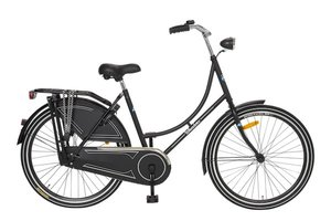 Avalon Kinder Omafiets Wheelerz Mat Zwart 24