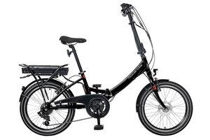 Hollandia FoldEr E-bike vouwfiets Der6 black
