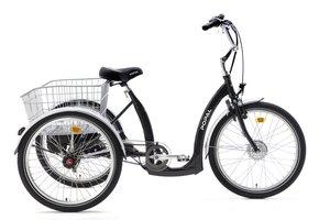 Popal Driewieler E Luxe 2405E Zwart