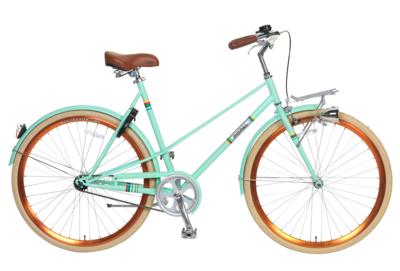 Tip popal capri dames stadsfiets kopen altijd de for Minimalistische fiets