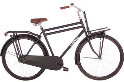 Spirit Retro Plus Mat-Zwart 28 inch